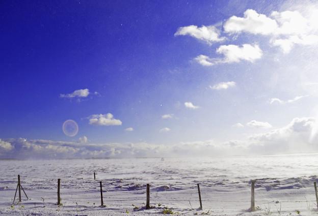 空と平原2