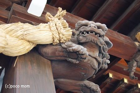 櫛田神社 木鼻2012年08月18日_DSC_0566