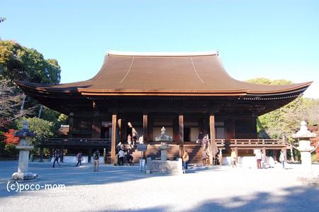 三井寺金堂2012年11月25日_DSC_0134