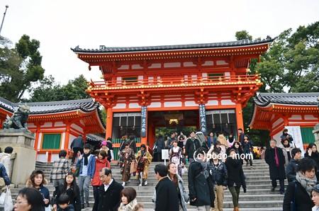 八坂神社西楼門2013年01月13日_DSC_0308