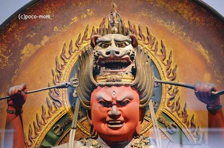 東京国立博物館 康円作 愛染明王2013年10月20日_DSC_0814