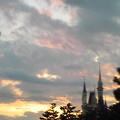 写真: 空が綺麗だったんだけど、上...