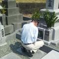 彼岸の入りのお墓参り2