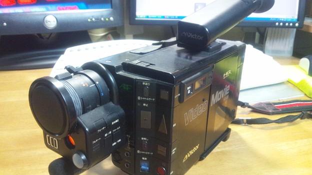 最初に購入したビデオカメラ Victor GR-C7