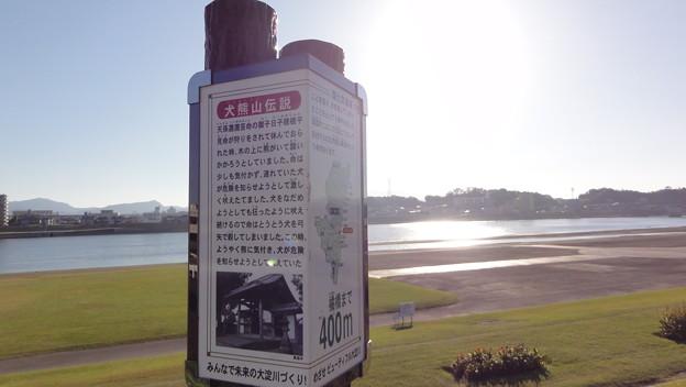 インターバル撮影@大淀川堤防3