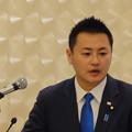 写真: 外山イツキ氏衆議院宮崎1区出馬記者会見