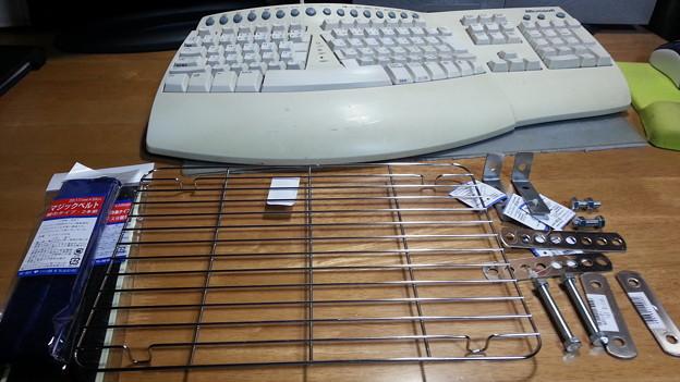 UST用のキーボード・フォルダーを作りました1