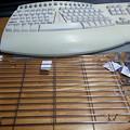 写真: UST用のキーボード・フォルダーを作りました1