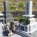 4月10日墓参り1