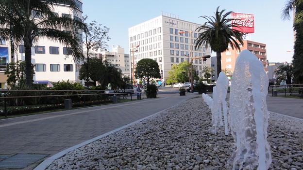 宮崎市役所前噴水広場1