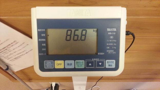 体重・・・