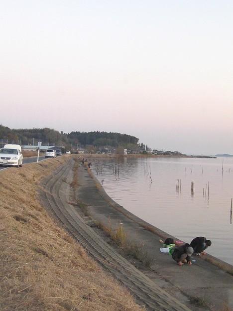 Photos: 霞ヶ浦 高崎付近 釣り風景