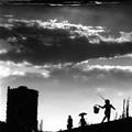 写真: 黄昏