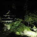 写真: 夜の福満虚空藏尊圓藏寺