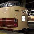 上野駅 183系の並び