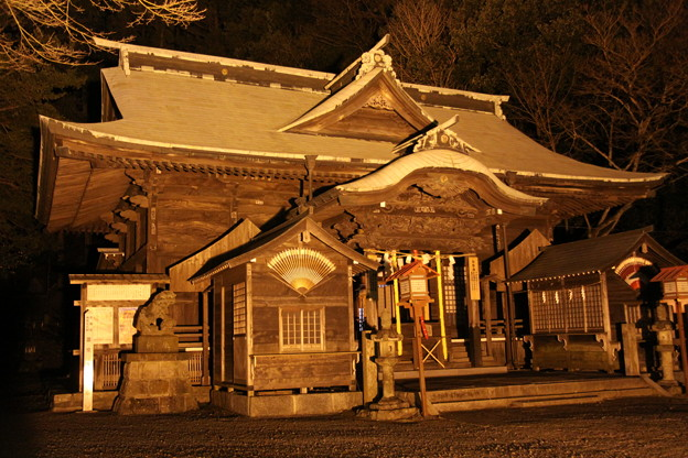 温泉神社 社殿