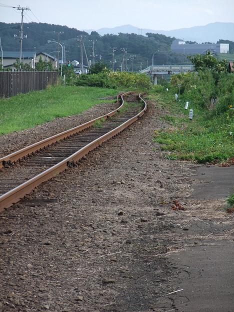 Photos: 終着駅への線路