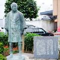二宮尊徳廻村の像