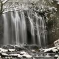 雪の達沢不動滝