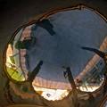 Photos: 鏡の国のおっさん