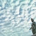 Photos: 観音様と雲