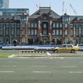 昼間の東京駅舎