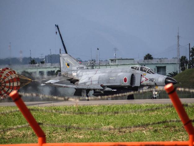 戦闘機の着陸