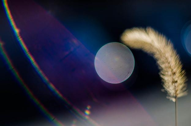 宇宙ステーションから見えた、月見幻想(爆)