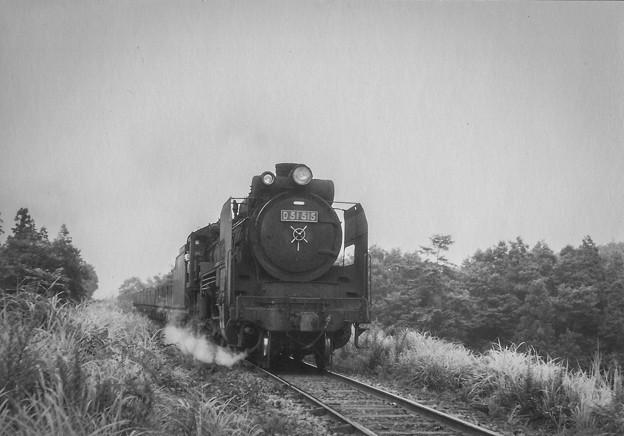 D51 515 昭和40年代初頭の勇姿