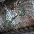 鳳凰@山門の天井に描かれた