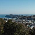 Photos: 吉祥院の檜チャリティホールから見た真鶴の海