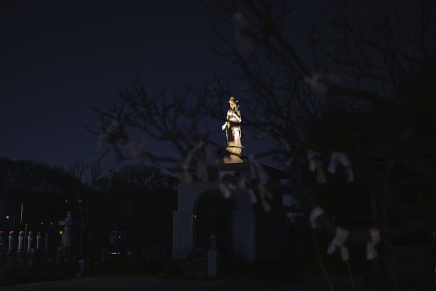Photos: 今日お寺を辞するときの景色