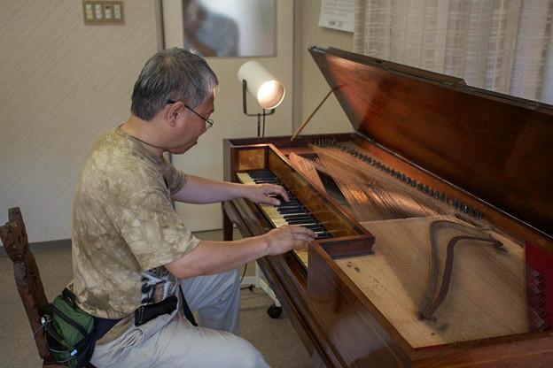 Square Pianoを弾いてみる2