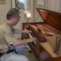 Photos: Square Pianoを弾いてみる2