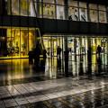 写真: 雨の夜