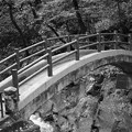 天安河原へ行くパワースポットの橋