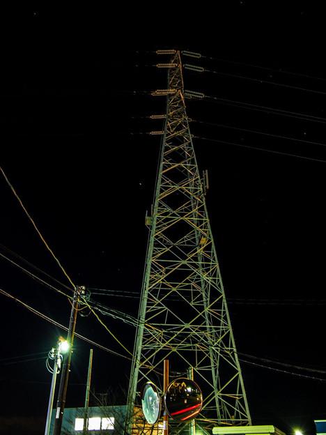 Photos: 夜の鉄塔