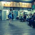 Photos: バレエの稽古場でパフォーマンス1@バレエのスタイルで