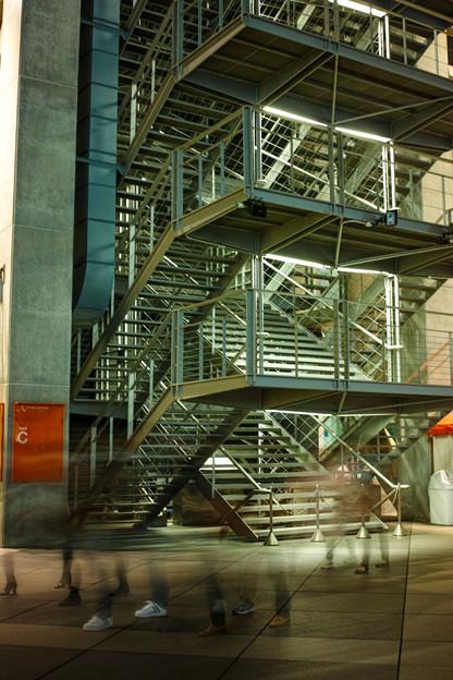 Photos: 階段、透明人間、、