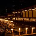 大阪四天王寺のお盆遠景