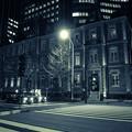 夜の三菱一号館