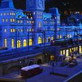 原鉄道模型博物館の夜