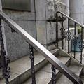 錆びた階段