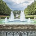 写真: 噴水,欧風庭園1@神奈川県立相模原公園にて
