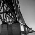 恐竜橋を海上から見る7