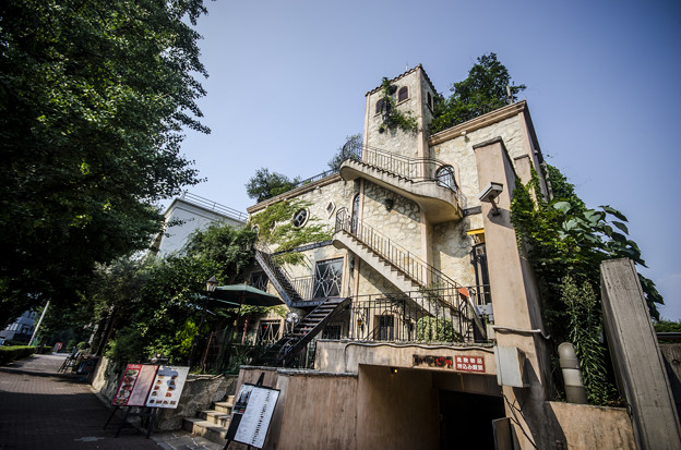 Café La Bohème白金店外観-1