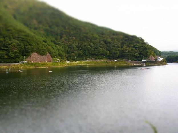 湖ジオラマ