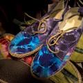 鮮やかな靴