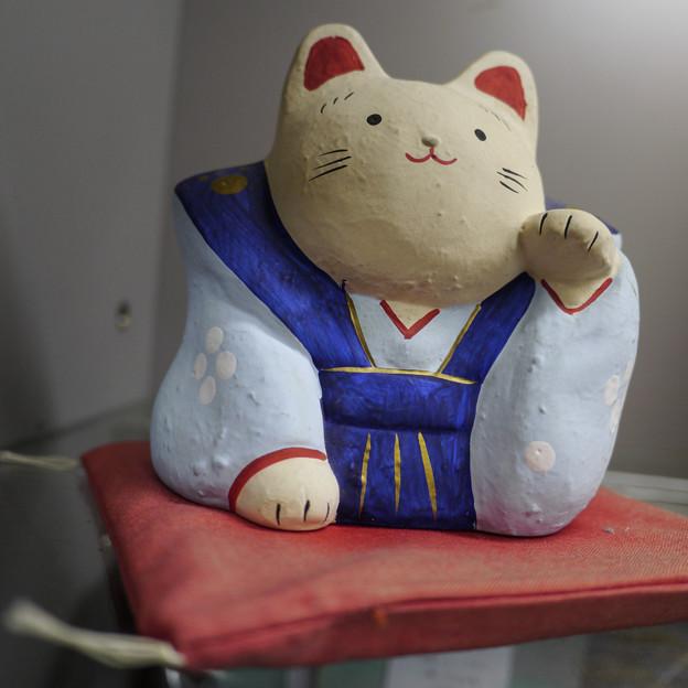 秩父で出会った左手挙げの招き猫4@左手挙げ招き猫28
