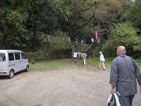 山道を登ってきてやっと平地(爆)@秩父霊場巡礼の旅2013